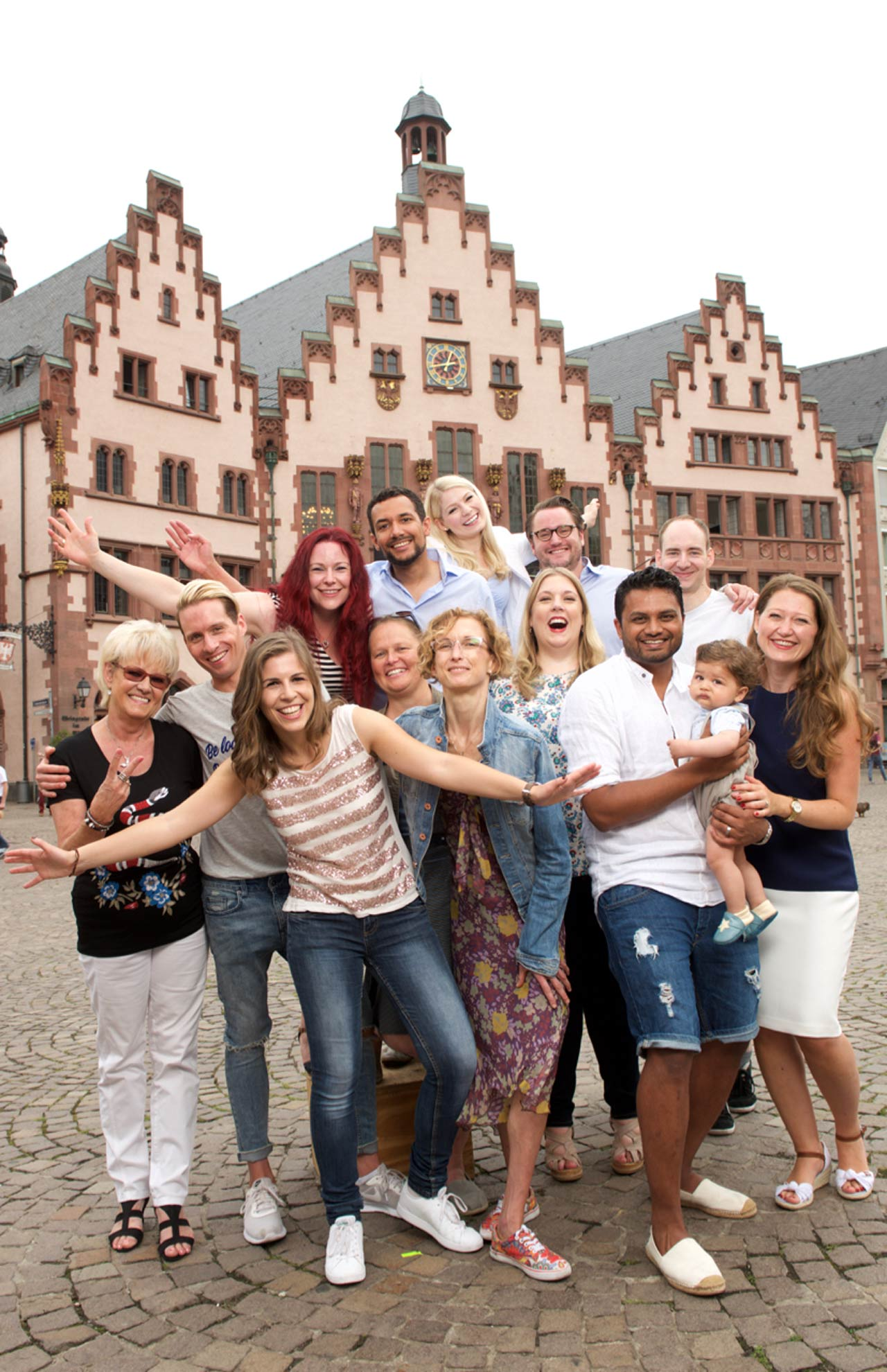 Agentur Ressmann - Einblick ins Rathaus Stadt Frankfurt am Main