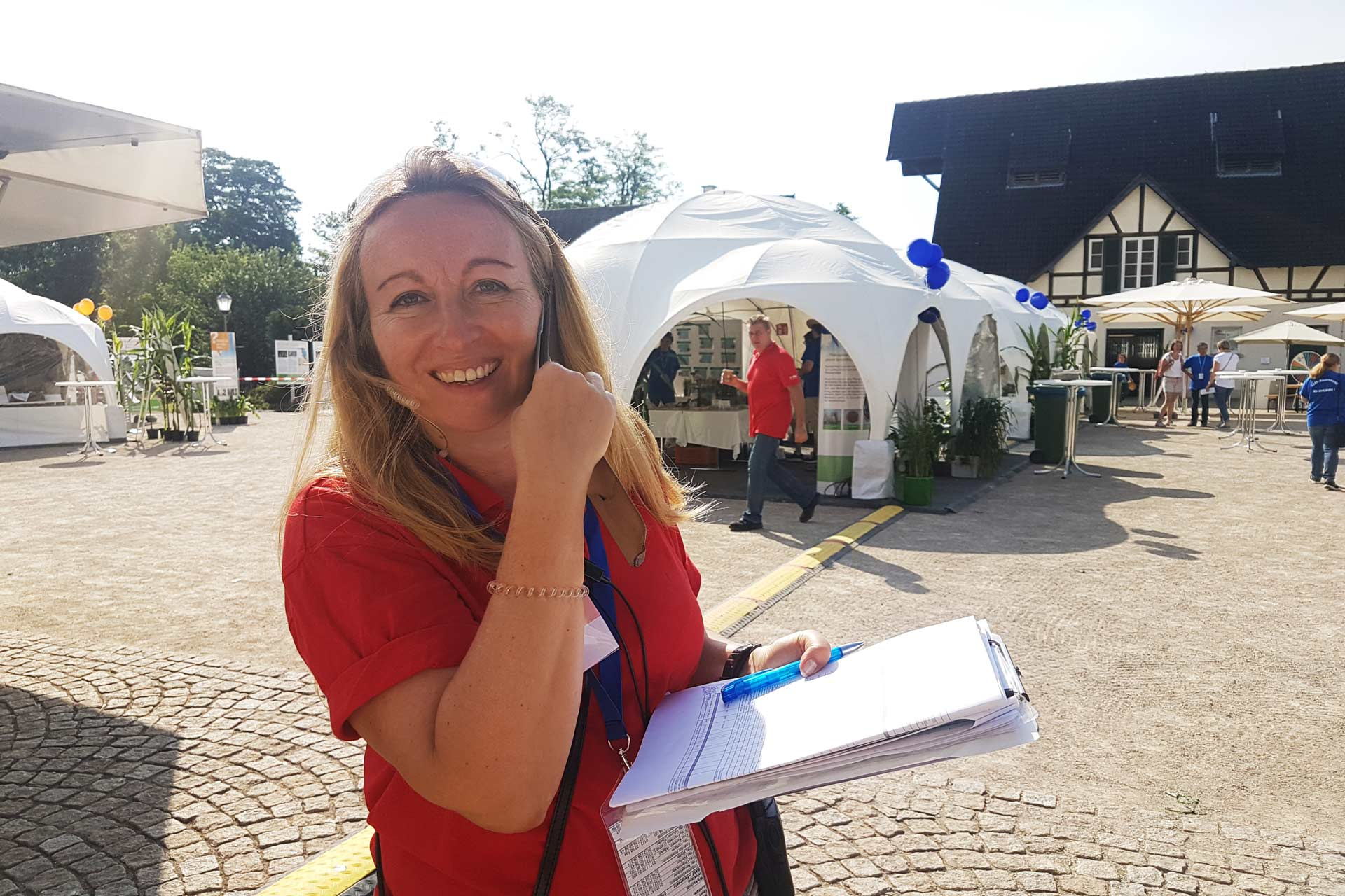 Agentur Ressmann - Alexandra Altmann - BASF Bauernmarkt