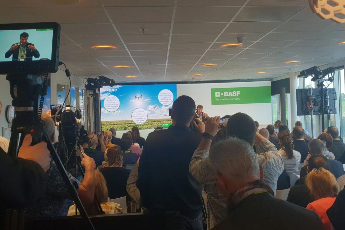Agentur Ressmann | BASF Pressekonferenz USA