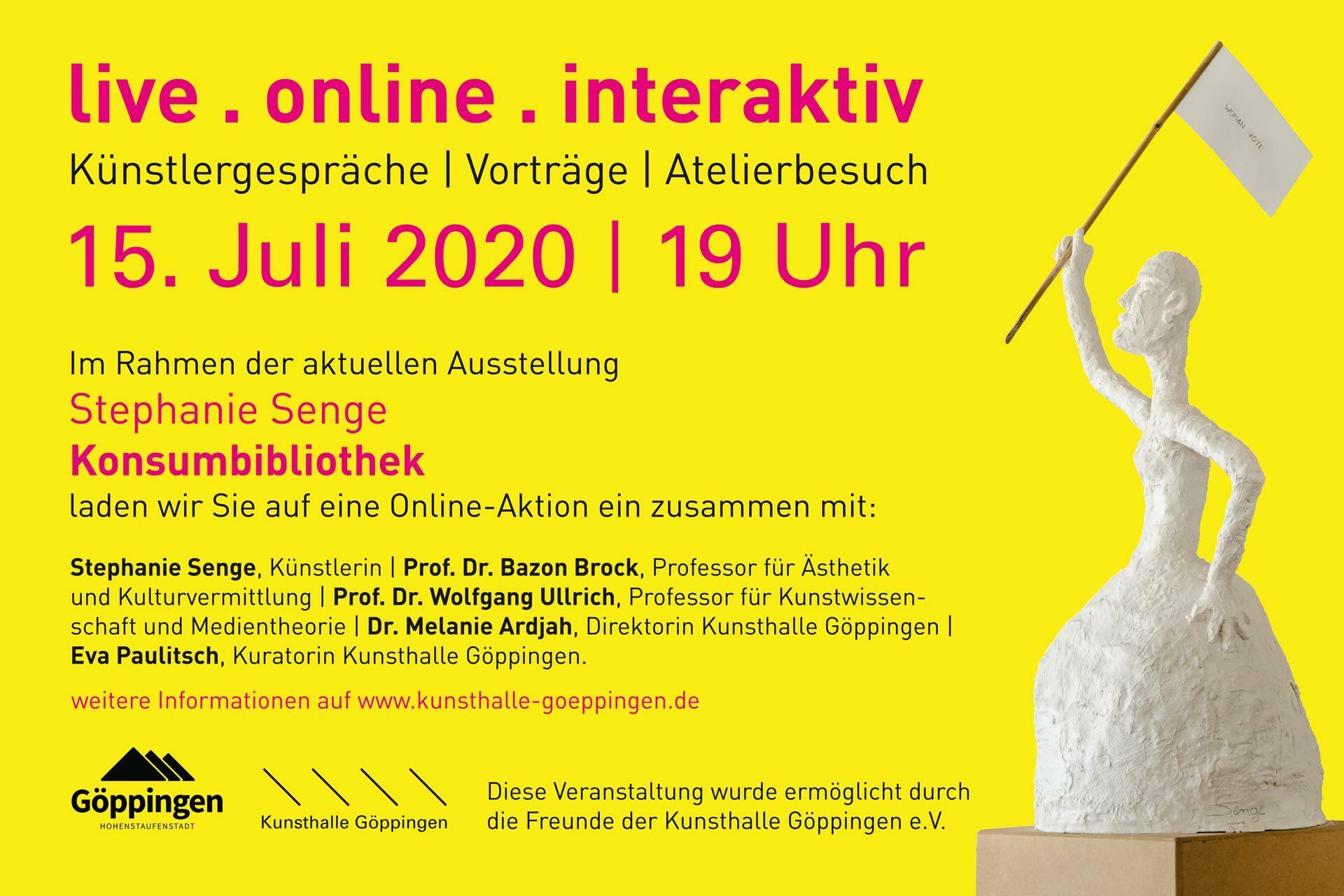 Agentur Ressmann   Kunsthalle Göppingen   Online