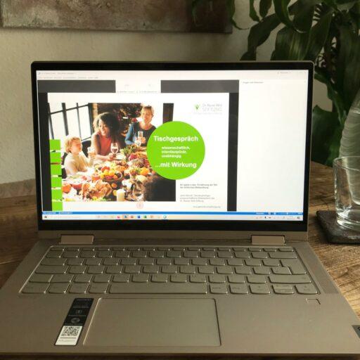 Agentur Ressmann | Rainer-Wild-Stiftung | Online Format