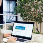 Agentur Ressmann | Existenzgruendungstag 2021 Website Laptop