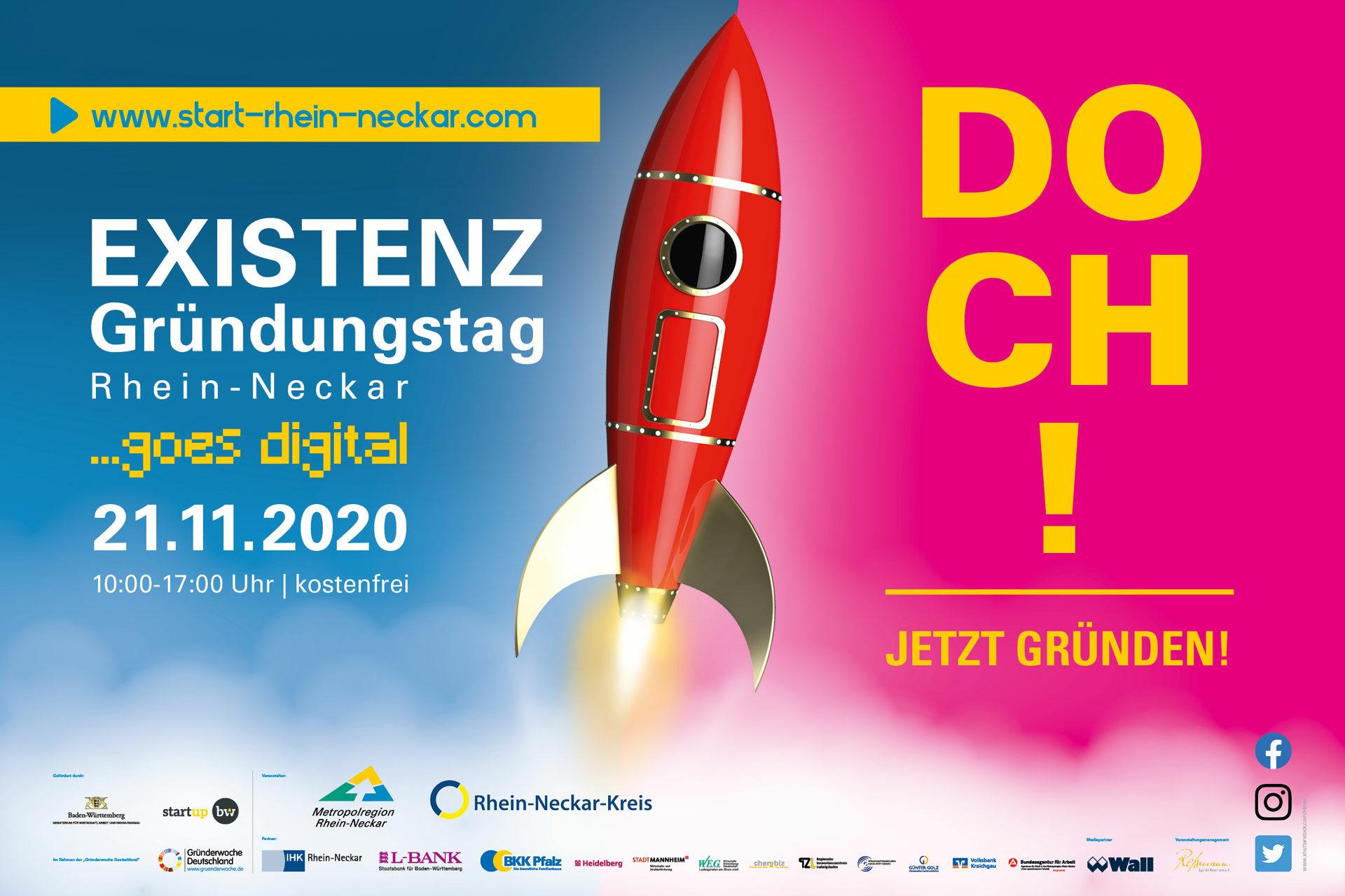 Agentur Ressmann   Existenzgründungstag Rhein-Neckar 2020 ...goes live