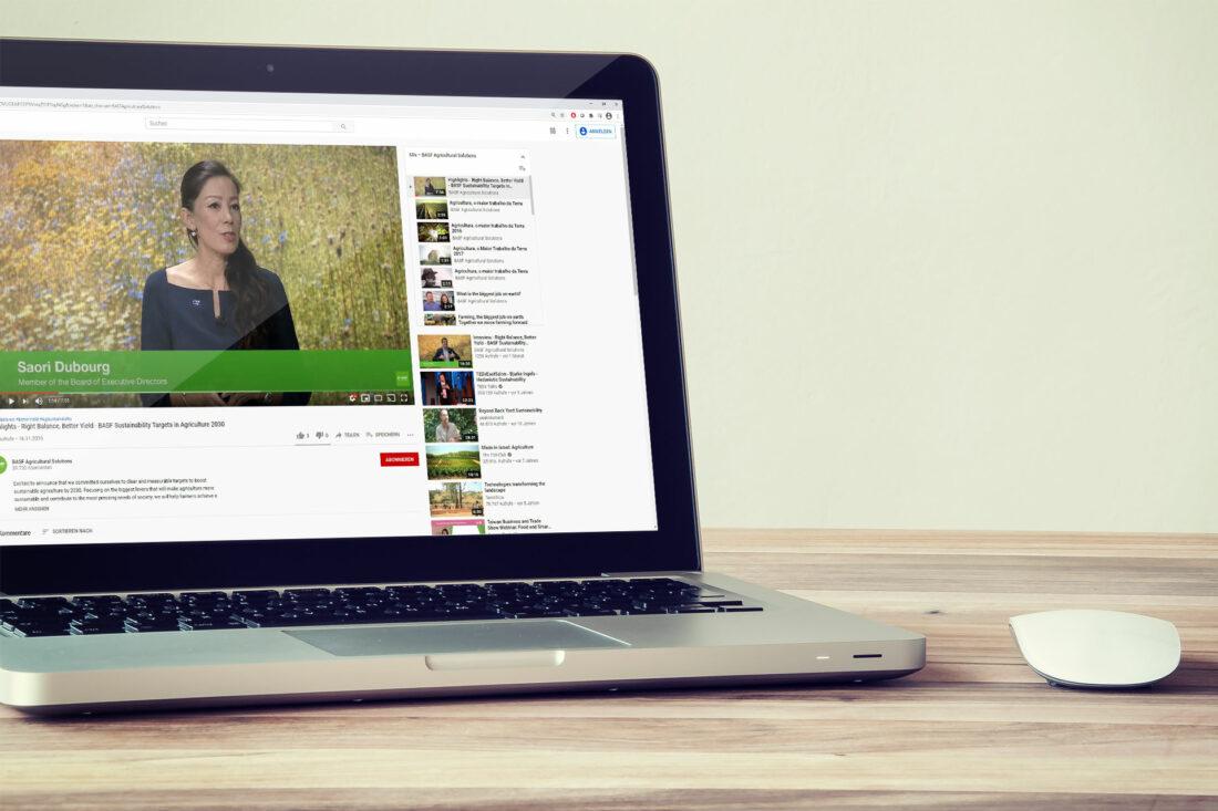 Agentur Ressmann | BASF Global Virtual Media Event 2020 01