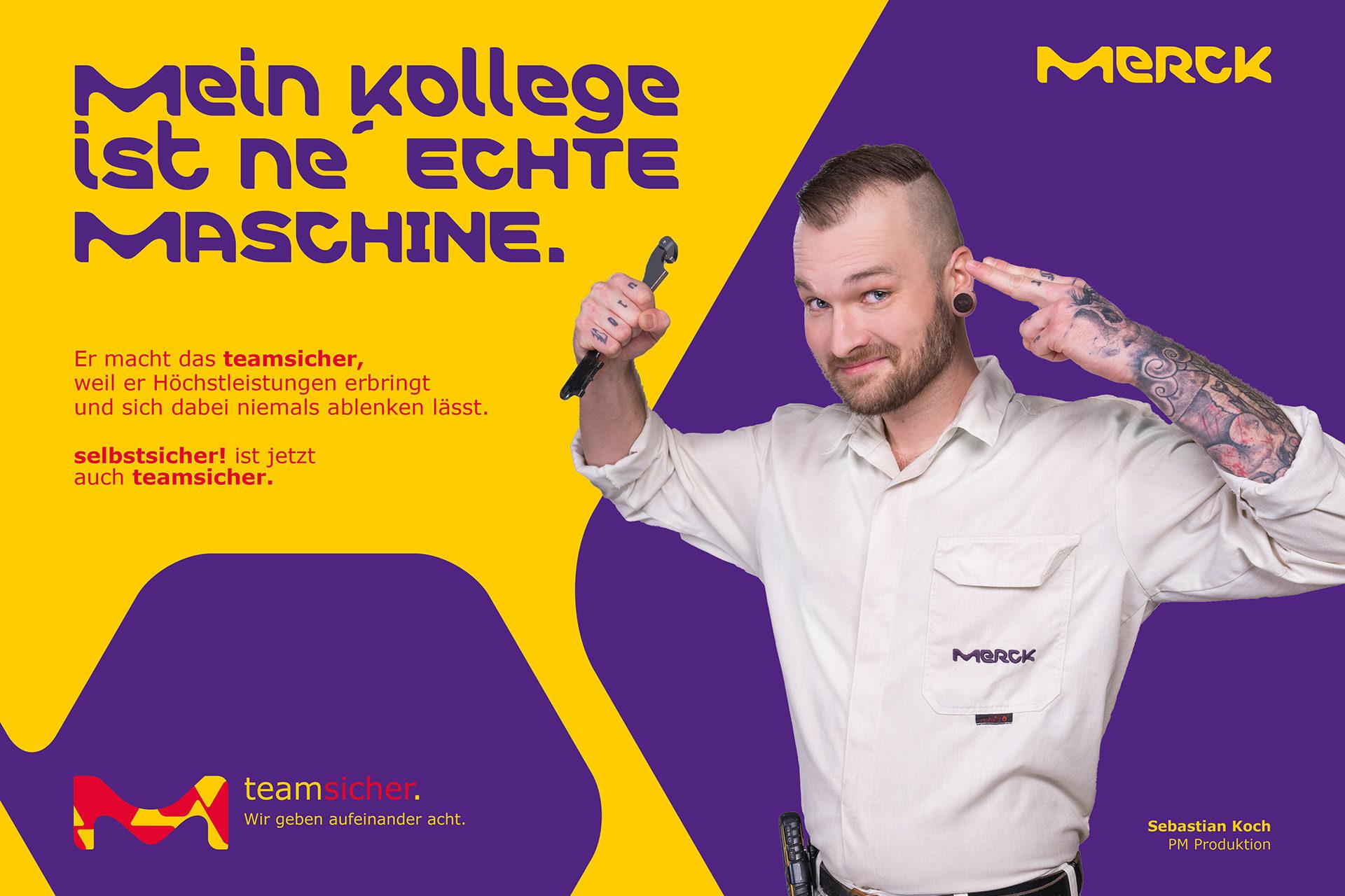 Agentur Ressmann | Merck Mitarbeiterkampagne 08