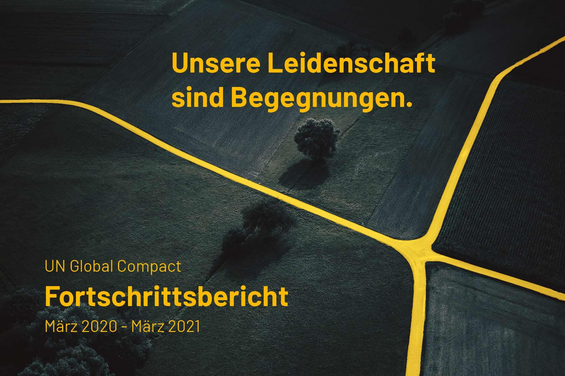 Agentur Ressmann | 2. Fortschrittsbericht (COP)