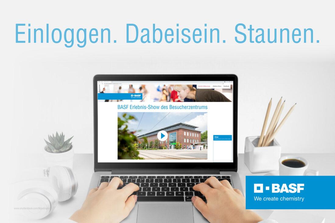 Agentur Ressmann | BASF Besucherzentrum Erlebnis-Show