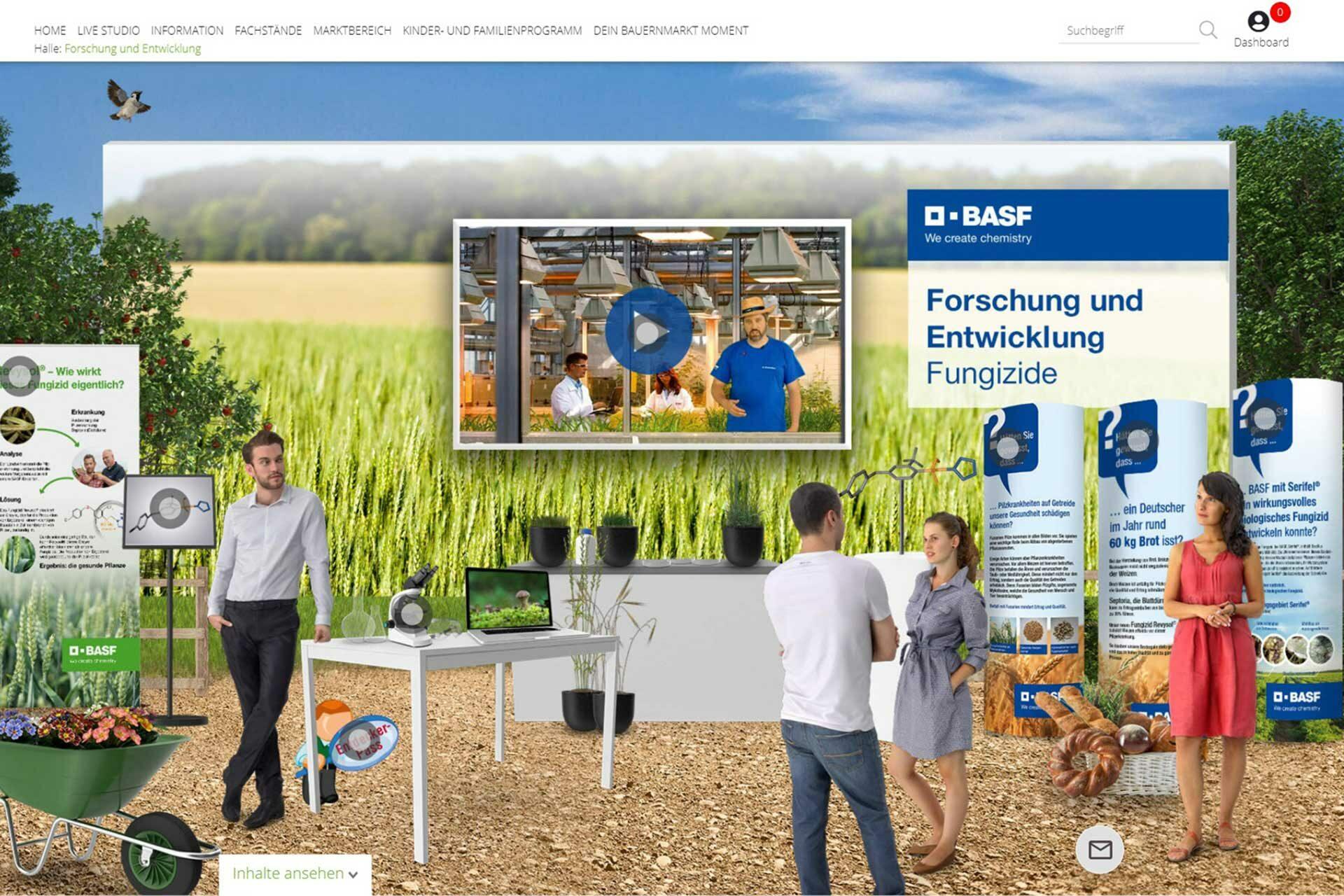 Agentur Ressmann   BASF-Bauernmarkt 10