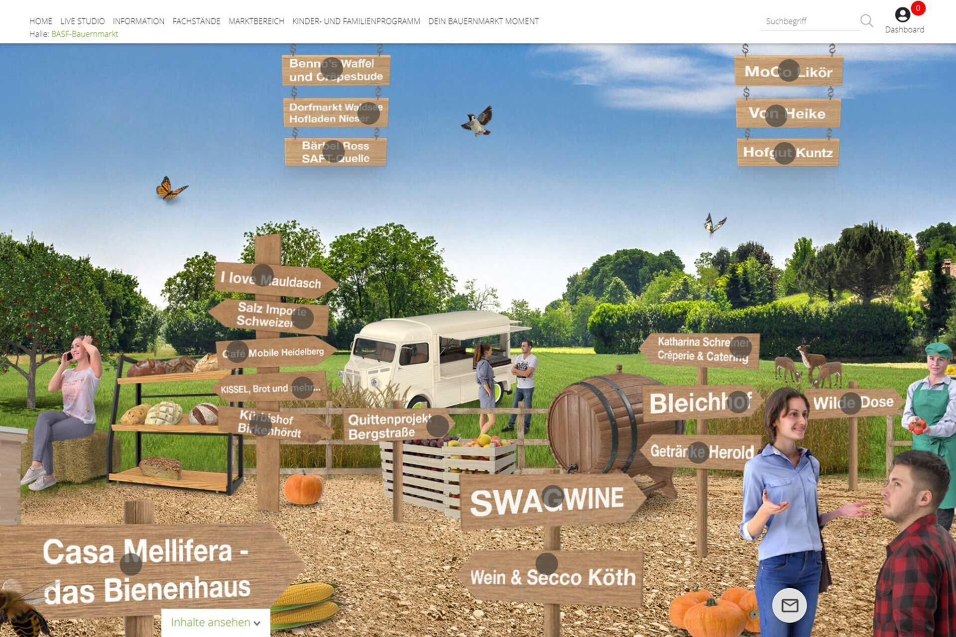 Agentur Ressmann   BASF-Bauernmarkt 11
